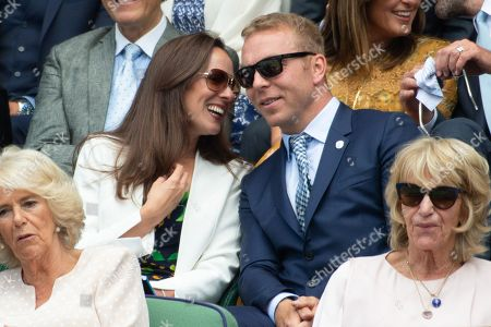 Editorial image of Wimbledon Tennis Championships, Day 9, The All England Lawn Tennis and Croquet Club, London, UK - 11 Jul 2018