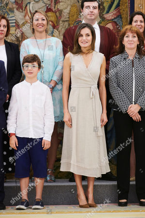 Audience with Queen Letizia, Madrid