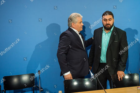 Editorial picture of Press conference about the verdicts in right-wing terror cell NSU trial, Berlin, Germany - 12 Jul 2018