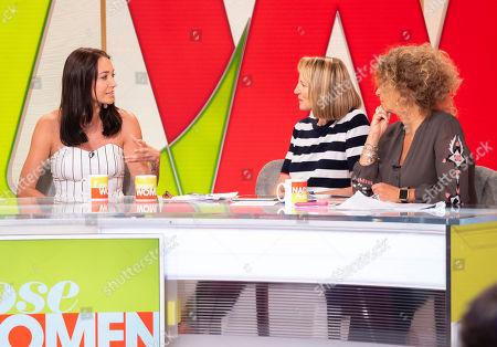 Melissa Wells, Carol McGiffin and Nadia Sawalha