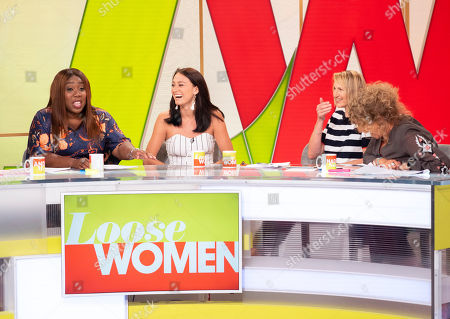 Melissa Wells, Chizzy Akudolu, Carol McGiffin and Nadia Sawalha