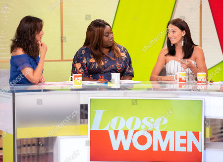 Andrea McLean, Chizzy Akudolu, Melissa Wells