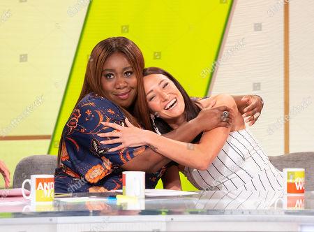 Editorial image of 'Loose Women' TV show, London, UK - 12 Jul 2018