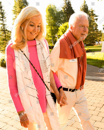 Stock Photo of Jill Noel and Richard Riordan