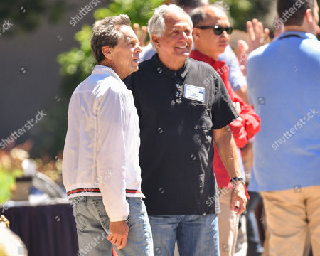 Brian Grazer and Leslie Moonves