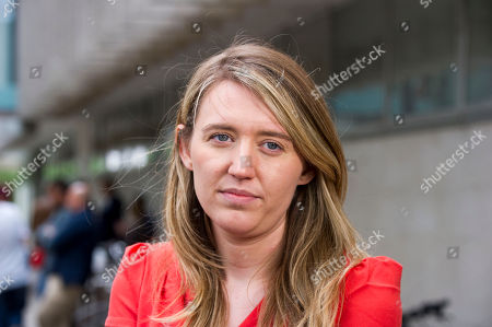 The Tower Blocks In Camden Which Are Being Evacuated After The Council Declared Them Unsafe Because Of The Use Of Similar Cladding To The Grenfell Tower. Pictured Is Georgia Gould 31 Who Is Leader Of Camden Council And Has Been At The Scene.