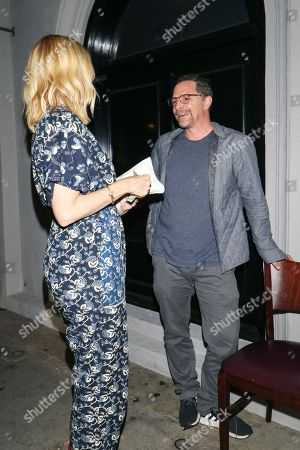 Editorial photo of Janel Moloney and Joshua Malina out and about, Los Angeles, USA - 11 Jul 2018
