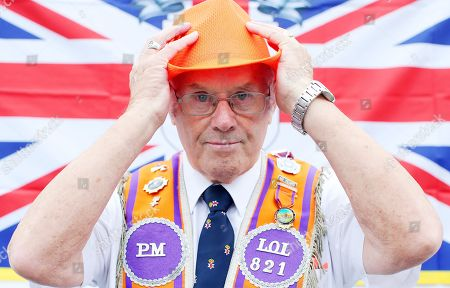Editorial image of Annual Orange Order parade, Belfast, Northern Ireland, UK - 12 Jul 2018