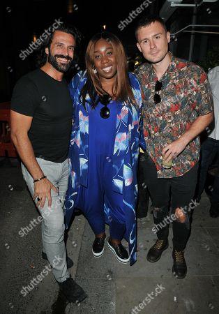 Christian Vit, Chizzy Akudolu and Danny-Boy Hatchard
