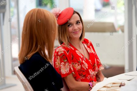 Editorial image of The Moet & Chandon July Festival, Day 1, Ladies Day, The July Course, Newmarket Racecourse, UK - 12 Jul 2018