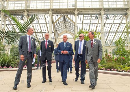 Prince Charles visits Royal Botanic Gardens, London