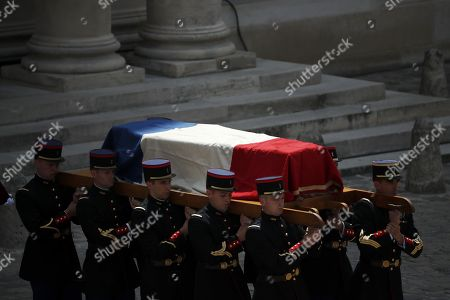 Editorial picture of Claude Lanzmann's funeral in Paris, France - 12 Jul 2018