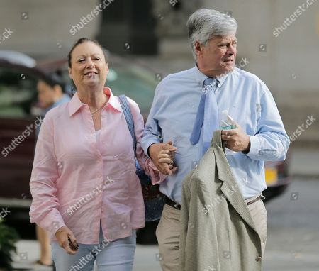 Dean Skelos and his wife Gail Skelos arrive to federal court in New York, . Two criminal trials over allegations of high-level corruption in New York state were both drawing to a close this week on the same floor atop a federal courthouse with dramatic views of the Manhattan skyline