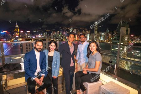 Filmmakers and cast of SEARCHING at RISE 2018, the largest tech event in Asia, in Hong Kong. From left to right: Screenwriter/Producer Sev Ohanian, Producer Natalie Qasabian, John Cho, Director/Screenwriter Aneesh Chaganty and Michele La, #searchingmovie