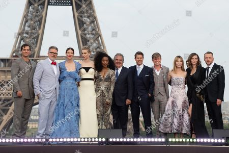 Editorial image of 'Mission Impossible - Fallout' film premiere, Paris, France - 12 Jul 2018