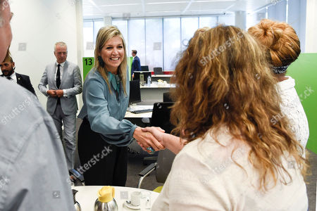 Queen Maxima visit to the National Program Rotterdam Zuid