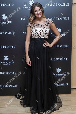Cristina Chiabotto total look Carlo Pignatelli