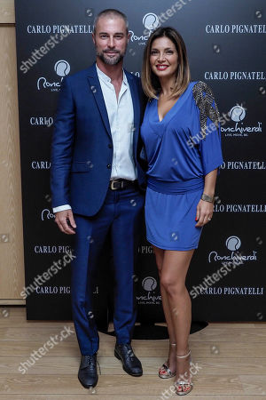 Stock Picture of Flavio Montrucchio and Alessia Mancini