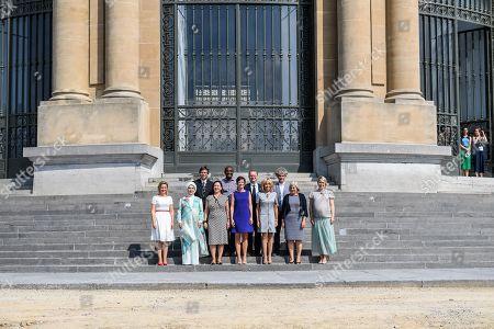 Mojca Stropnik, Emine Gulbaran, Ingrid Schulerud, Amelie Derbaudrenghien, Brigitte Trogneux, Ulla Lofven, Karin Ratas