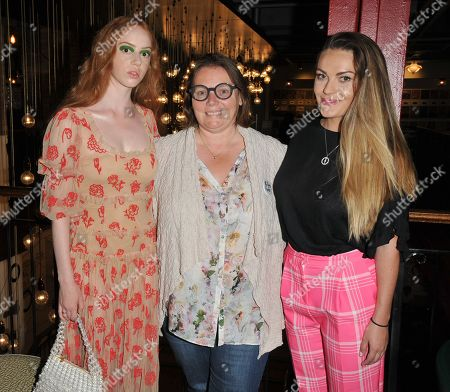 Lily Newmark, Joanna Scanlan and Chanel Cresswell