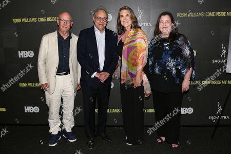 Alex Gibney (Producer), Lewis Black, Marina Zenovich (Director) and Rebecca Damon (Exec. VP; SAG-AFTRA)