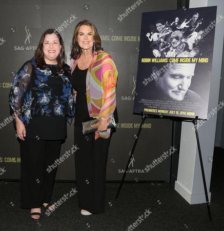 Rebecca Damon (Exec. VP; SAG-AFTRA) and Marina Zenovich (Director)