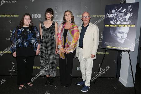 Rebecca Damon (Exec. VP; SAG-AFTRA), Shirel Kozak (Producer), Marina Zenovich (Director) and Alex Gibney (Producer)