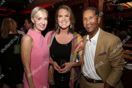 Hilary Gumbel, Marina Zenovich (Director) and Bryant Gumbel