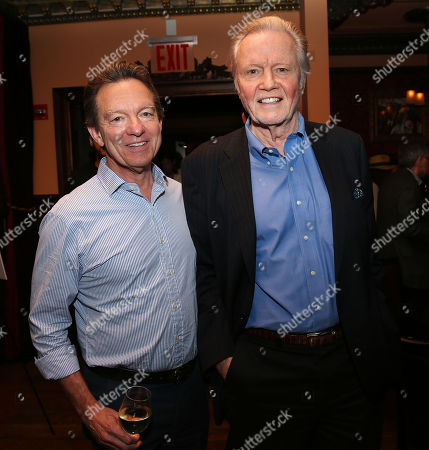 Lawrence Wright and Jon Voight