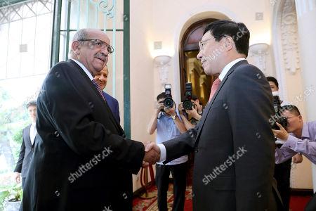 Pham Binh Minh and Abdelkader Messahel