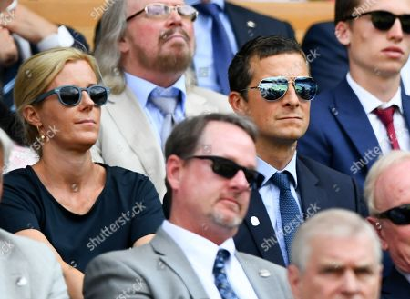 Bear Grylls and Shara Grylls in the Royal Box