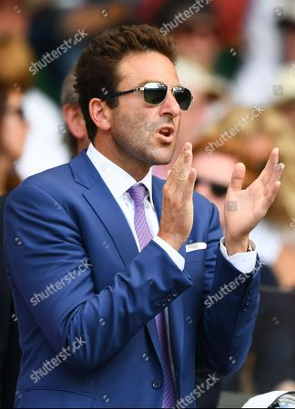 Stock Picture of Justin Gimelstob on Centre Court