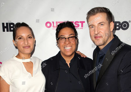 Lucy Mukerjee, Angela Robinson, Christopher Racster