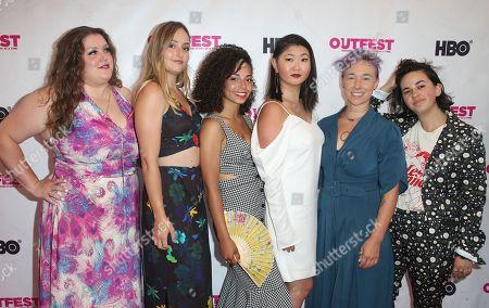 Chelsea Moore, Hannah Hodson, Erica Pappas, Chelsea Monroe, Leslie Zak