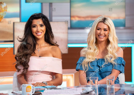 Stock Photo of Chloe Khan and Nicola McLean