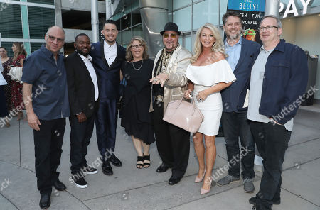 Amazon Studios Head of Marketing and Distribution Bob Berney, Clifton Magee, Bobby J, Lauren Greenfield, Limo Bob, Frank Evers and Amazon Studios Head of Production Ted Hope