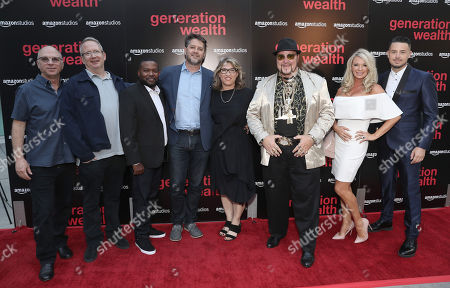 Amazon Studios Head of Marketing and Distribution Bob Berney, Amazon Studios Head of Production Ted Hope, Clifton Magee, Bobby J, Lauren Greenfield, Limo Bob, Frank Evers and Ted Hope