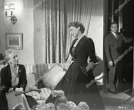Stock Picture of Marjorie Fielding (Mother Heathley), Phyllis Calvert (Lydia Heathley), Herbert Lom (Dr. Alex Leon)