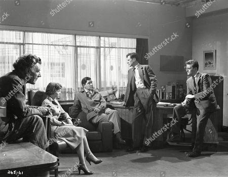 Caven Watson (Dr. Ferguson), Muriel Pavlow (Caroline Cartier), Robert Beatty (Maj. Sam Seagram), James Donald (Prof. Michael Heathley), Patric Doonan (Brian Jackson)