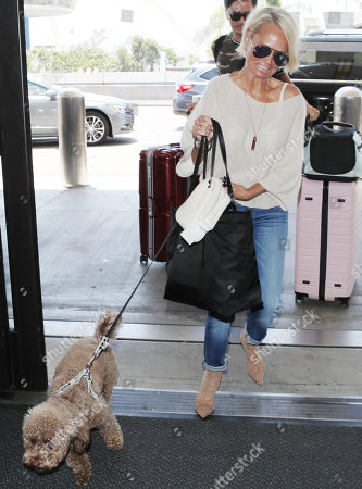 Editorial picture of Kristen Chenoweth at LAX International Airport, Los Angeles, USA - 12 Jul 2018