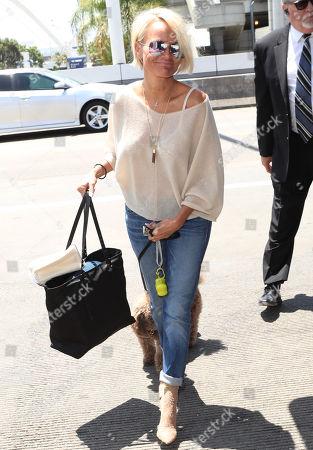 Editorial image of Kristen Chenoweth at LAX International Airport, Los Angeles, USA - 12 Jul 2018