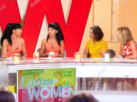 Editorial photo of 'Loose Women' TV show, London, UK - 13 Jul 2018