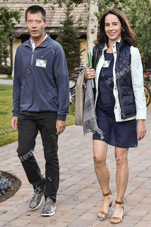 David Riley and Sarah Friar