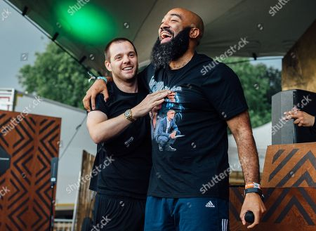 Mike Skinner and Murkage Dave