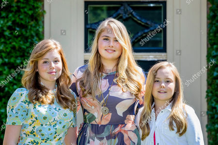Princess Catharina-Amalia, Princess Alexia and Princess Ariane