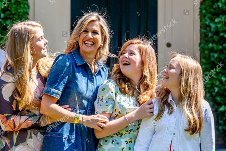 Queen Maxima, Princess Catharina-Amalia, Princess Alexia and Princess Ariane