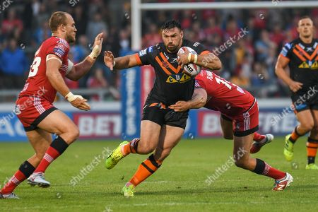 Editorial picture of Salford Red Devils v Castleford Tigers, Betfred Super League, AJ Bell Stadium, Salford, UK - 13 Jul 2018