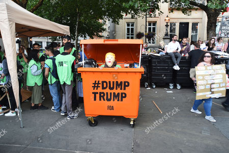 US President Donald Trump visit UK Day Stock Photos (Exclusive