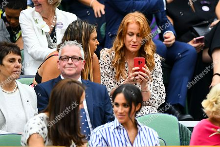 Editorial picture of Wimbledon Tennis Championships, Day 12, The All England Lawn Tennis and Croquet Club, London, UK - 14 Jul 2018