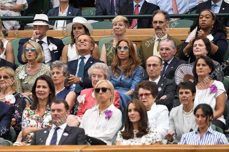 Emma Watson, John Vosler, Mark Rylance and Claire van Kampen in the Royal Box
